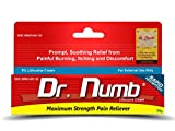 1 Tube of Dr. Numb Maximum Topical Anesthetic Anorectal Cream, Lidocaine 5% ~