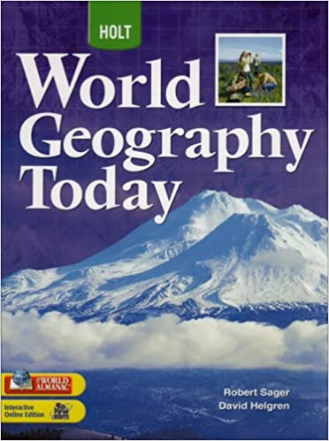 World Geography Today Student Edition Grades 9 12 2008