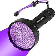 Black Light UV Flashlights,395 NM Ultraviolet Blacklight Detector for Home Hotel Dogs Cat Pet Urine Dry Stains