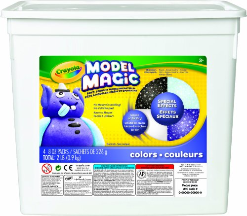 Crayola Model Magic Special FX Clay Bucket (Special Clay)