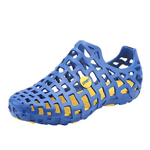 Da Uomo Coppia Infradito Classico Donna Wuayi Acqua Sandali Scarpe Pantofole Piovana Blu Unisex Cava Spiaggia vSCgdHWng
