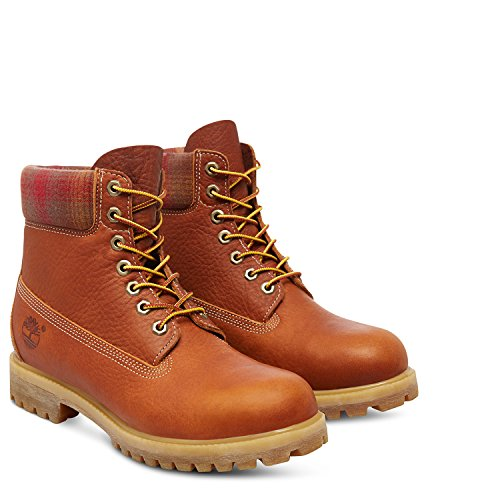 Timberland Herren FTB 6 in Premium Boot A112D Medium Brown Waterproof EU 47,5
