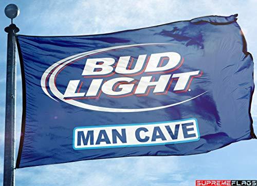 Brand New Bud Light Beer Flag 3x5 ft Banner Budweiser Bar Beer Beverage Man Cave