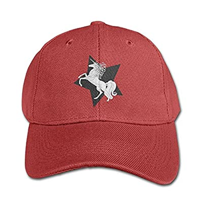 Wiongh Opp Kids Mesh Baseball Cap Snapback Hats Funny Pentagram and Unicorn Boy-Girls