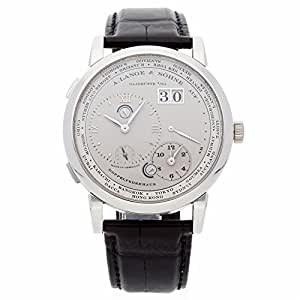 A. Lange & Sohne Lange 1 Mechanical-Hand-Wind Male Watch 116.025 (Certified Pre-Owned)