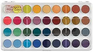 Angora Watercolor 36 Pan Set