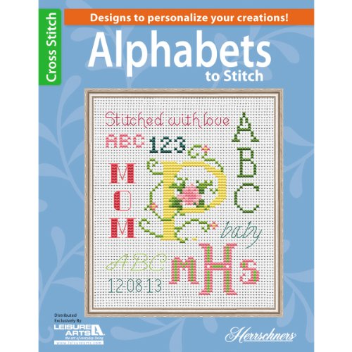 LEISURE ARTS Alphabets to Stitch Book ()