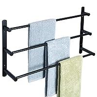 Alise Bathroom Towel Bars Towel Hanging Rod/Rail Wall Mount,Made of SUS304 Stainless Steel