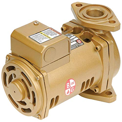 Bell & Gossett PL-36B Series Pl Maintenance-Free Circulator, Flange Connection, 1/6 hp, 115V, Lead-Free Bronze ()