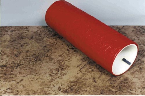 BonWay 32-228 6-Inch by 5-Inch River Bed Pattern Concrete Texture Roller