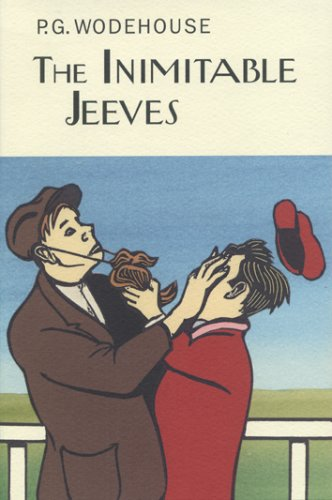 Book cover for The Inimitable Jeeves
