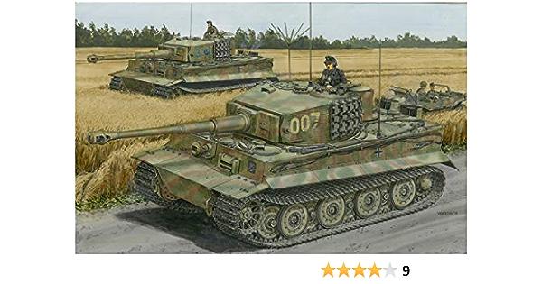 Dragon Pz.Kpfw. Maqueta de Tanque Vi AUSF.E SD.Kfz.181 Wittmanns Last Tiger (Escala 1:35)
