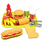 CAILLU Toddler Girls Toys Play Food Pretend