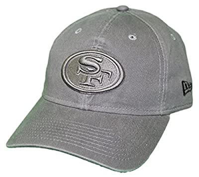 New Era San Francisco 49ers NFL 9Twenty Classic Tonal Adjustable Graphite Hat by New Era