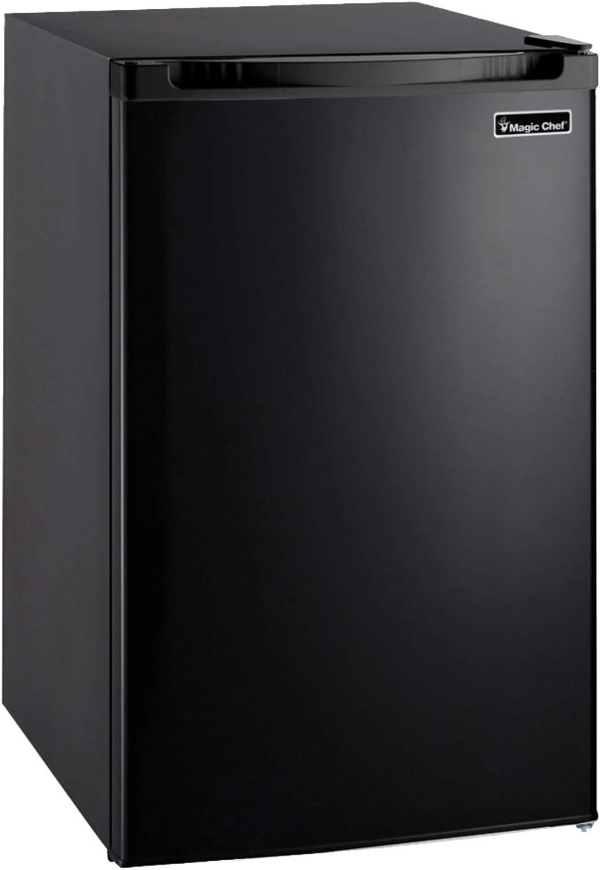MAGIC CHEF MCBR440B2 4.4 Cubic-ft Refrigerator (Black)