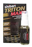Shibari Triton MAXX, Improved Formula; Male Desensitizing Spray with Lidocaine USP 20%, Strongest Lidocaine Concentration on the Market, Spray Bottle, 30 ml / 1.00 fl Oz., 192 Sprays