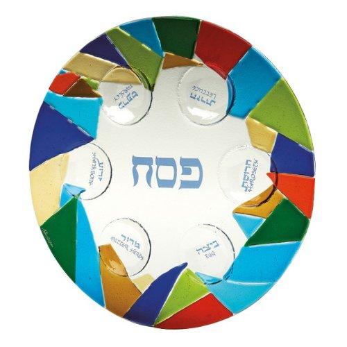 (Magnificent Mosaic Seder Plate)