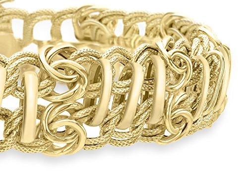 Carissima Gold - Bracelet chaîne - Or jaune 9 cts - 20 cm - 1.22.8383