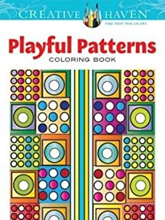 Creative Haven Playful Patterns Coloring Book Adult