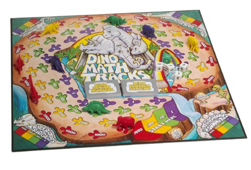 517JP06S4RL - Learning Resources Dino Math Tracks Game