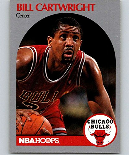 1990-91 Hoops #61 Bill Cartwright Bulls NBA Basketball
