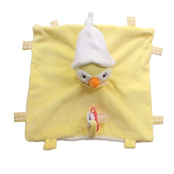 Bigood - Manta Suave para bebé con Chupete Chick Talla:Talla ...