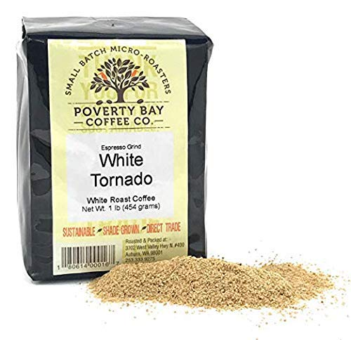 White Coffee – 1lb bag of Ground White Coffee Beans Roasted By Poverty Bay Coffee Co, Special Grind – What is White…