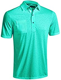 2016 Mizuno Digital Jacquard Polo Shirt, Cockatoo, Large