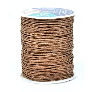Mandala Crafts Extra Long 1mm 1.5mm 2mm Braided Nylon 109 YD Light Fan Shade Lift Blinds Cord (1.5mm, Oak)