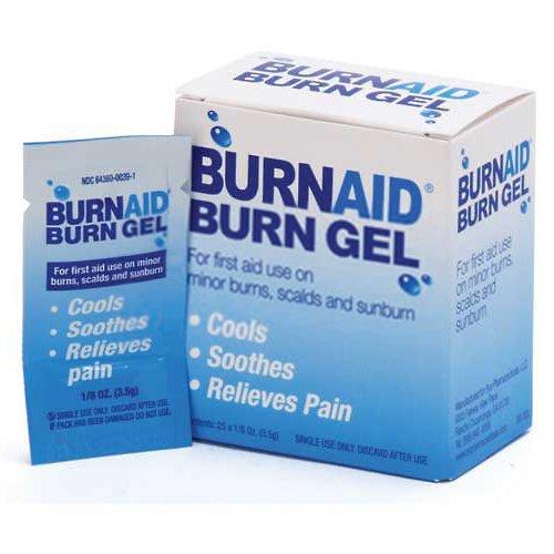 Medique 44669 BurnAid Burn Treatment, Unit Dose Packet, 5/Box - Lot of 2