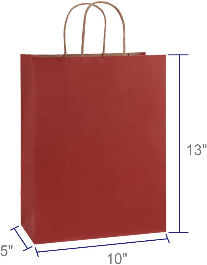 Amazon.com: BagDream - 25 bolsas de papel Kraft negras de ...