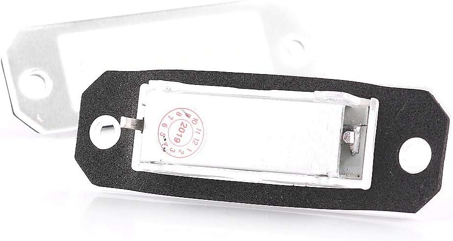 2 x LED License Plate Light Canbus Plug /& Play E-Mark V-030629
