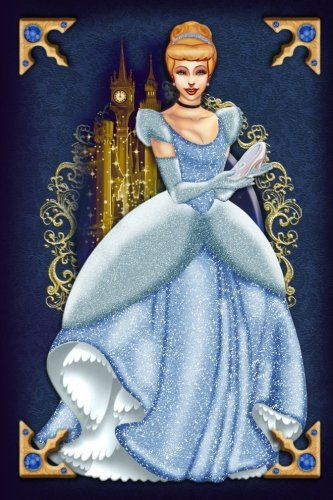 Cinderella - Disney Princess - Designer Fairytale Journal Notebook: Disney Princess Lined Journal A4 Notebook, for school, home, or work, 150 Pages, 6' x 9' (15.24 x 22.86 cm), Durable Soft Cover