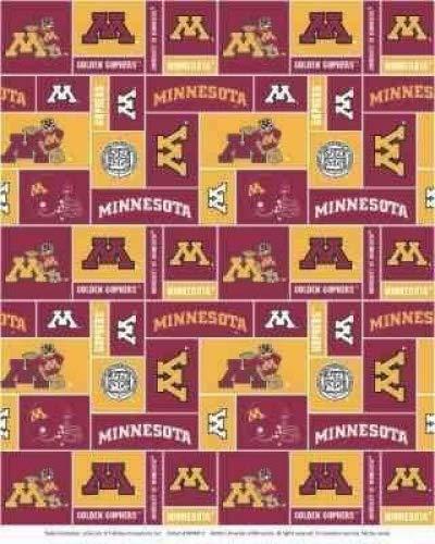 University Of Minnesota - 100% Polyester Fleece 60