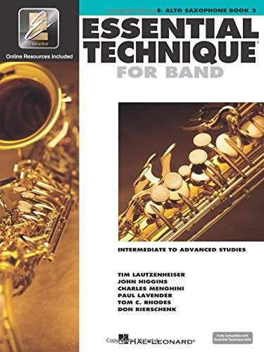 Essential Technique for Band with EEi - Intermediate to Advanced Studies: Eb Alto Saxophone ()