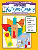 November Monthly Arts and Crafts, The Mailbox Books Staff, 1562343475