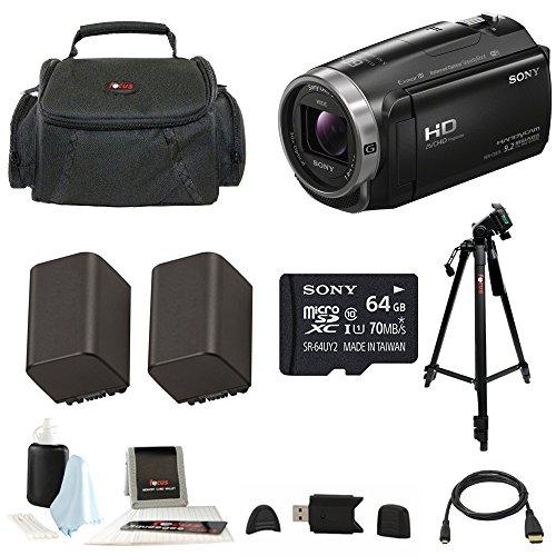 Sony HDR-CX675 Handycam Full HD 1080p Camcorder w/ Lithiu...