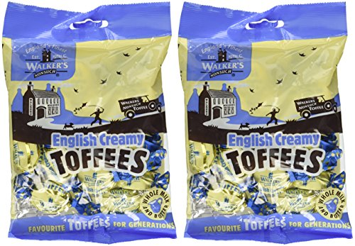 (Walkers Nonsuch English Creamy Toffees, 5.3 oz., Two bags)