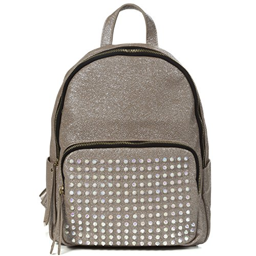 Studded Vintage Skirt (Handbag Republic Designer Fashion Backpack Studded Style For Women)
