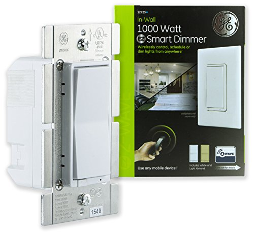 GE Z-Wave Wireless Smart Lighting Control 1,000-Watt Dimmer