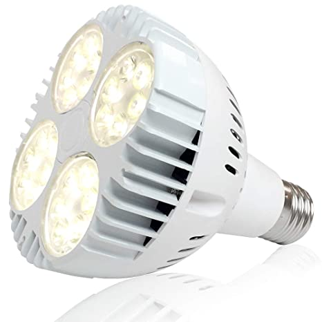 35W Full Spectrum LED Grow Bulb, 300W Equivalent Grow Light for Indoor  Plants, Sunlike Plant Light Bulb for Hydroponics Greenhouse Indoor  Gardening,