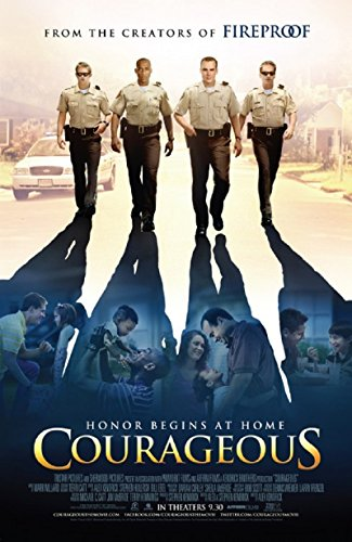 Courageous 2011 S/S Movie Poster 11x17