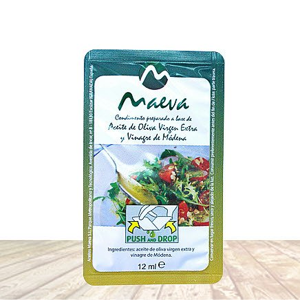 Extra Virgin Olive Oil & Vinegar of Modena Individual Salad Dressing Packets 12 Pack