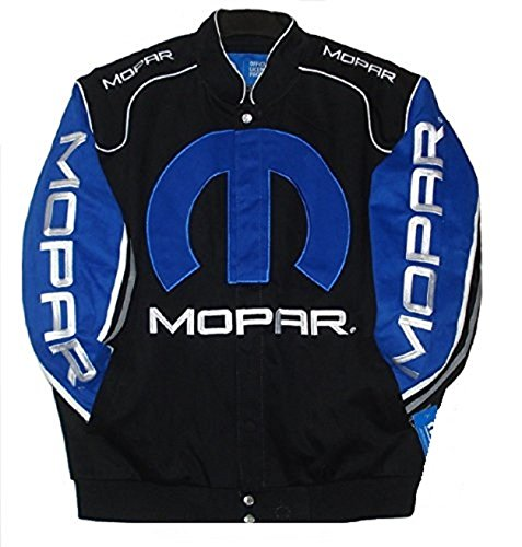 Mopar Dodge Embroidered Cotton Twill Jacket JH Design New XL