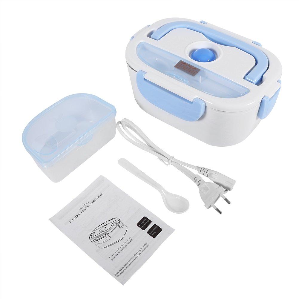 Fdit Riscaldatore elettrico portatile di cibo scaldavivande per Bistro per uso ufficio domestica viaja socialme-eu Rosa