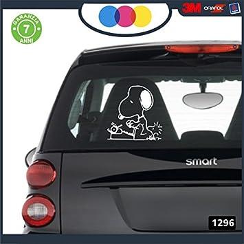 Pegatina para Coche – -Snoopy – Color Negro – Stickers Notebook – Perro, Perros