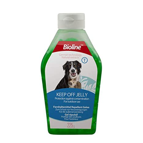 Aolvo Spray disuasorio para mascotas, spray para mascotas, mantiene fuera de gelatina, mantiene