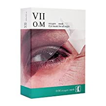 VIIcode O2M Oxygen Eye Mask Customized Skin Care Reducing Dark Circles, Puffiness and Wrinkles Anti Aging for Men and Women 6 Pads/Box by VIIcode