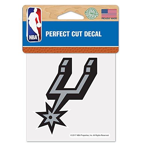 (WinCraft NBA San Antonio Spurs Perfect Cut Color Decal, 4