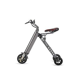 WFTD Bicicleta Eléctrica De Tres Ruedas Portátil, De 8 Pulgadas Plegable Impermeable Triciclo Eléctrico De